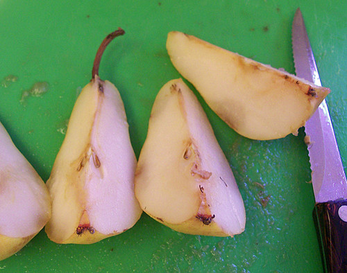 dried pears step 2