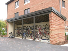 Eastern Mennonite University's new Bike Shed