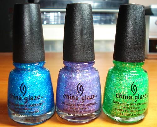China Glaze Glitters