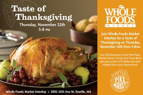 Whole Foods Thanksgiving party 1