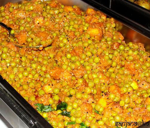 Mattar paneer- Chetna's Sweets Catering