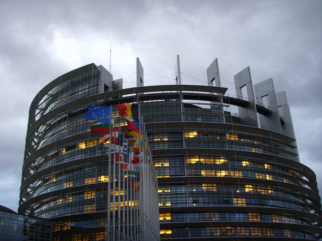 European Parliament, Strasbourg (Louise Weiss Building - LOW) by ajburgess, on Flickr