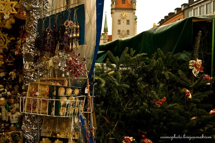Christkindlesmarkt. Weihnachten.
