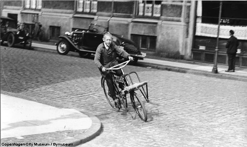 Copenhagen Bike Messenger ca. 1950