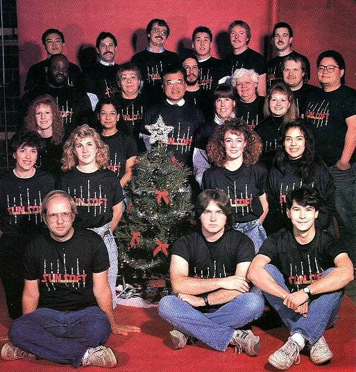 Sunsoft Christmas 1989