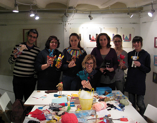 Stuffies workshop by Misako Mimoko Dec. 4th at Duduá