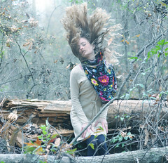 Woods (Stephen Beadles) Tags: plants tree forest scarf hair photography woods wind stephen beadles stephenbeadles