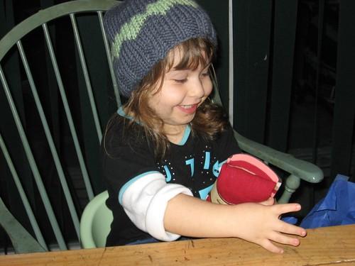 AJ heart hat
