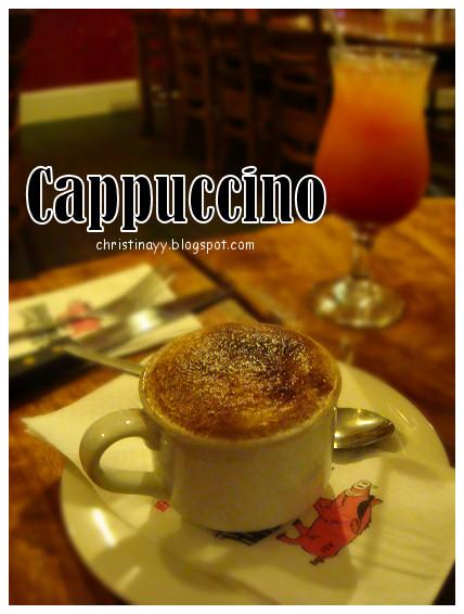 Hog's Breath Cafe: Cappucino