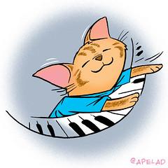 Keyboard Cat Twitter Avatar