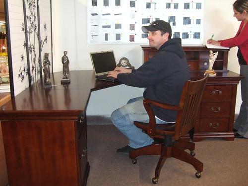 A New Corner Desk