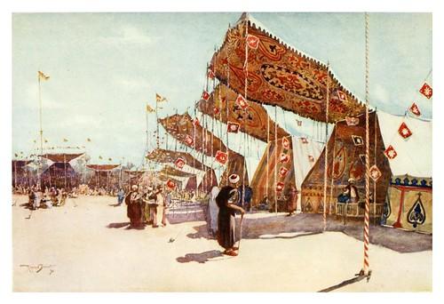 033- La feria Moolid El ahmadee en el Cairo-Cairo, Jerusalem, and Damascus..1907- Margoliouth D. S.