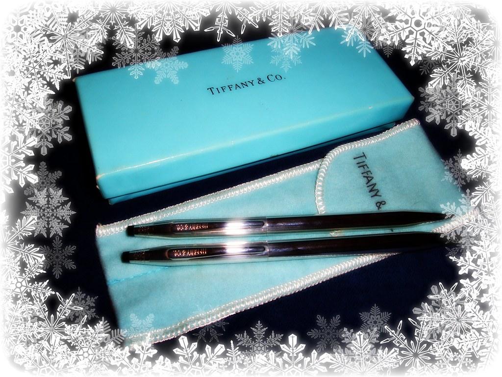 Tiffany 925 Sterling Silver Pen & Pencil set