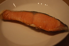 Grilled salmon (osamu ito) Tags: salmon grilled redfish