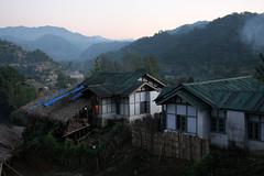 Houses in Dapurijo, Arunachal Pradesh (sensaos) Tags: people india rural asia village native traditional north culture tribal east tribe cultural indigenous pradesh arunachal famke noord oost azi stammen daporijo tagin dumporijo sensaos