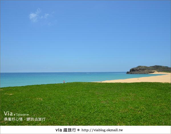 【澎湖沙灘】山水沙灘,遇到菊島的夢幻海灘!6