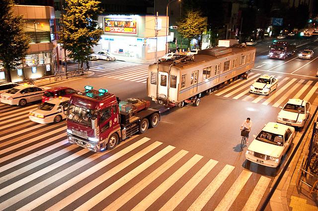 東京メトロ東西線05系05-105F 05-205川崎港へ陸送される