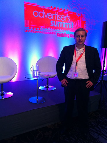 Speaking at the Persgroep Advertiser's Summit in Duesseldorf (Germany)