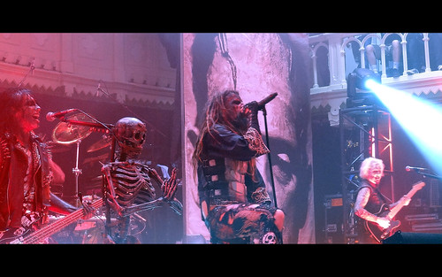 Rob Zombie Paradiso mashup foto - Rob Zombie Live in Paradiso, Amsterdam (June 15th 2011)