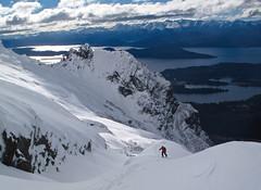 classic view of cerro lopez skiing