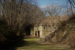(taradonnelly1) Tags: outdoor statenisland fortwadsworth building trees