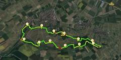 Rheinhessen-Runde: Runtastic-Aufzeichnung