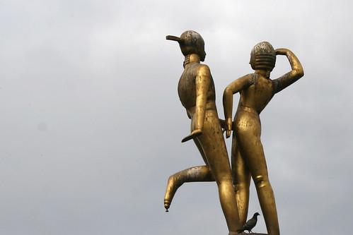Das tanzende Paar