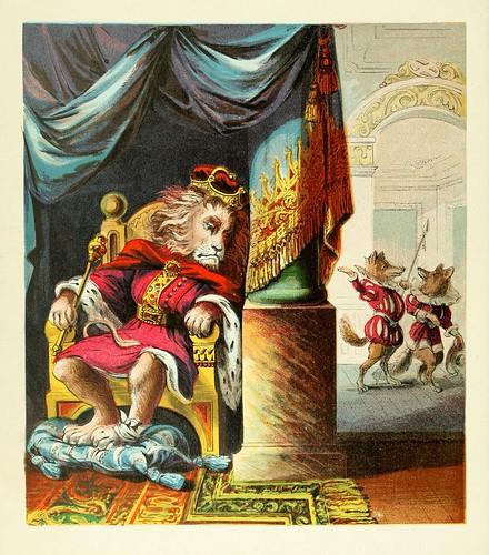 Leo Aegrotus, Lupus et Vulpes