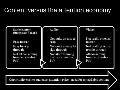 content vs attention