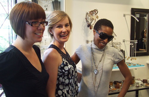 Sonja, Wendy and Anita at Made You Look