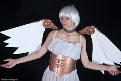 Clover (Walter Pellegrini) Tags: portrait italy anime roma costume nikon cosplay manga cosplayer clover ritratto suu fumetto ottavia d700 deathwrathangel