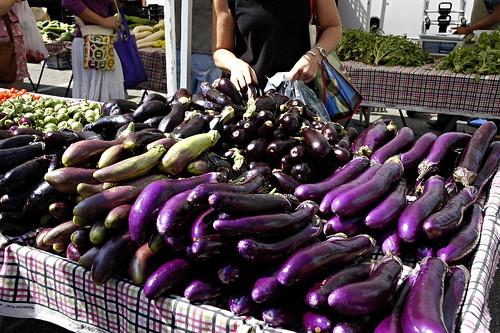 Local Organic Eggplant