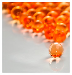 A leader is one who knows the way, goes the way, and shows the way (Gordon Mould) Tags: orange reflection lens nikon bokeh flash kitlens balls explore kit lightroom 18105 orangeballs d90 orangeball explored 18105mm aplusphoto nikond90