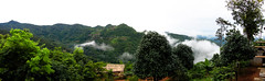 The view from the Lahu village