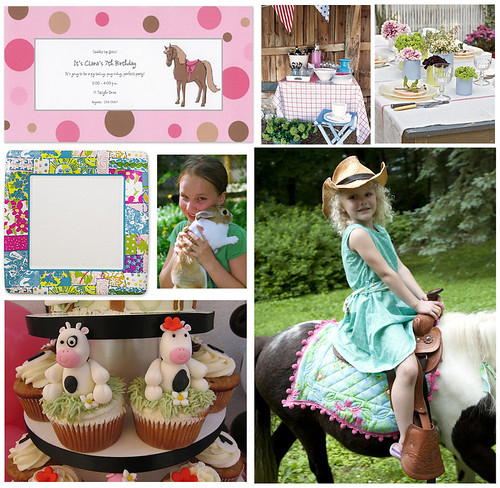 A Girly Barnyard Birthday