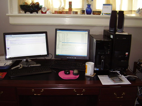 computer dell workdesk