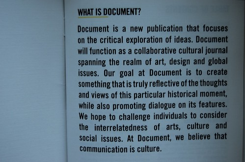DOCUMENT introduction