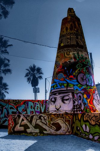 Graffiti Cone by Brendan Arthur Ring