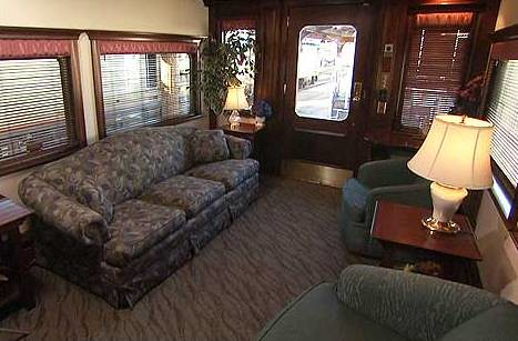 Train Chartering - Private Rail Car Northern Sky - observation (USA)
