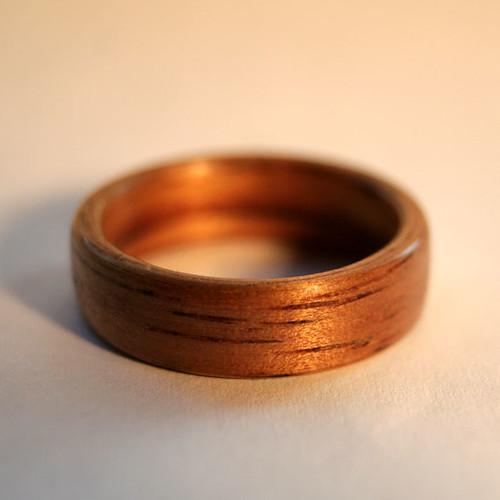 Golden Koa Ring