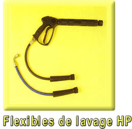 Flexibles de lavage HP