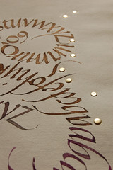 Alfabet Cargol daurat (Oriol Mir Genovart) Tags: calligraphy oriol mir caligrafa calligraphie kalligrafi calligrafia