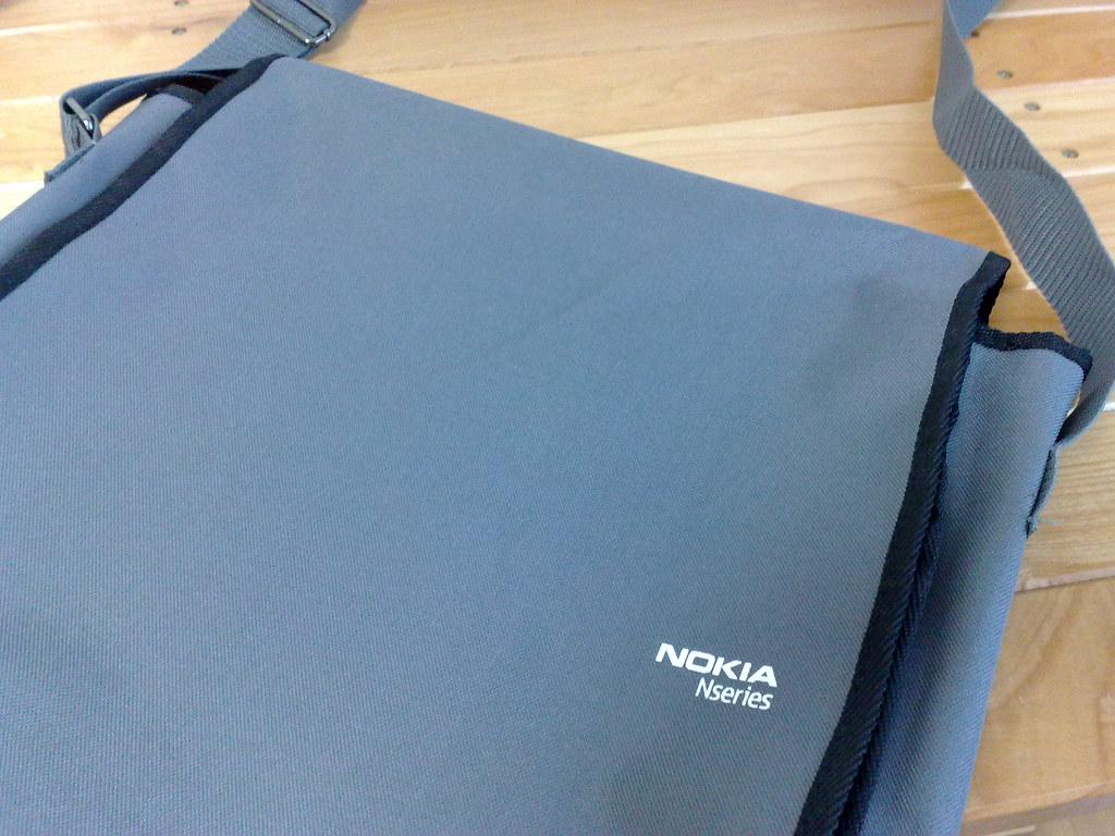 Nokia Nseries bag