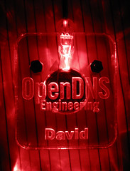 OpenDNS LED Pendant