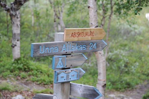 Abiskojaureはこっち