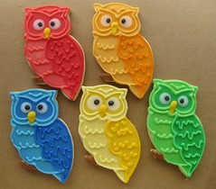 Horned Owl (kneadacookie) Tags: cookies owl primary decorated horned