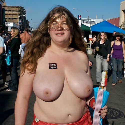 : folsomstreetfair, folsom, bareboobs, topless, streetportraits, topfreedom
