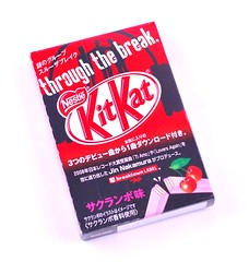 Kitkat Through The Break Cherry