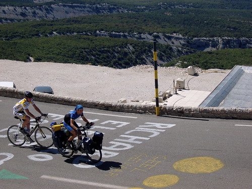 Ventoux – one of the toughest climbs of them all. Photo: wonderer with a camera