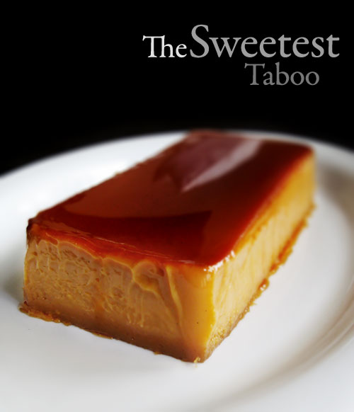 Dulce de Leche Flan (with title)